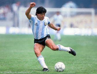 A Hero – A villain: The Two Maradonas